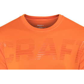 Craft Prime Logo - T-shirt course à pied Homme - orange